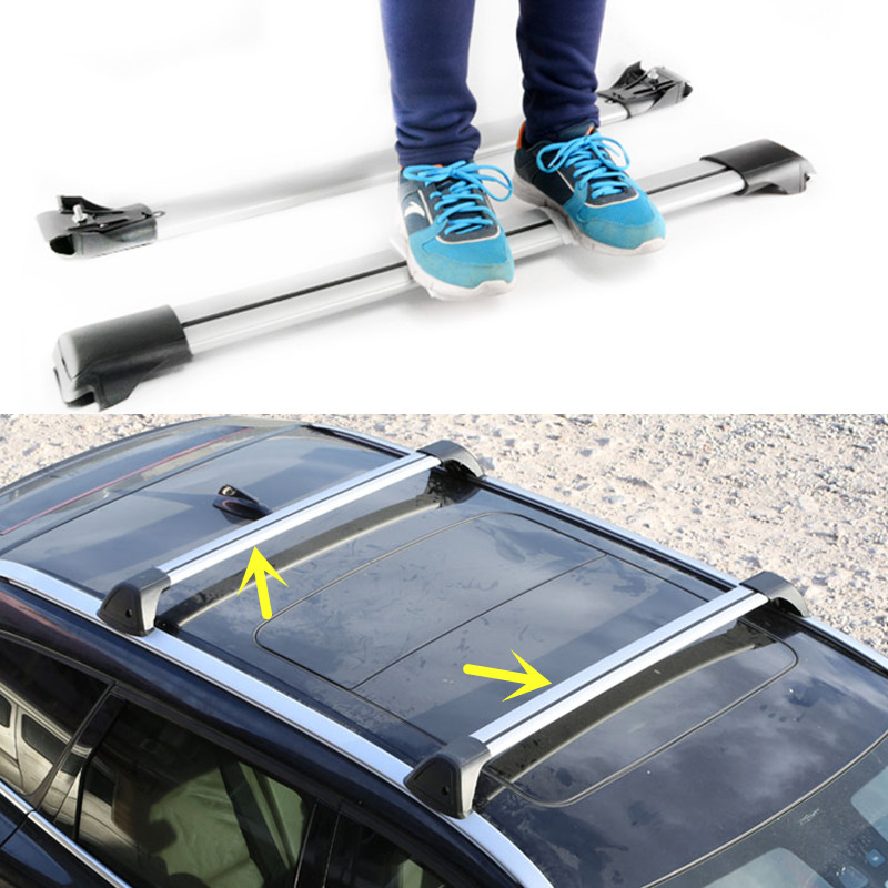 For Volvo V70 XC Cross Country 2002 Car Top Roof Rack Cross Bars Luggage  Carrier