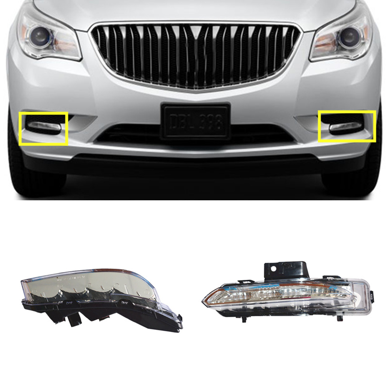 2pcs For Buick Enclave 2014 2016 Front Turn Signal Light