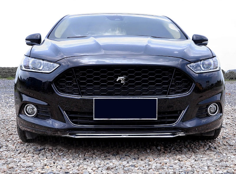For Ford Fusion Mondeo 2013 2016 Black Front Grille