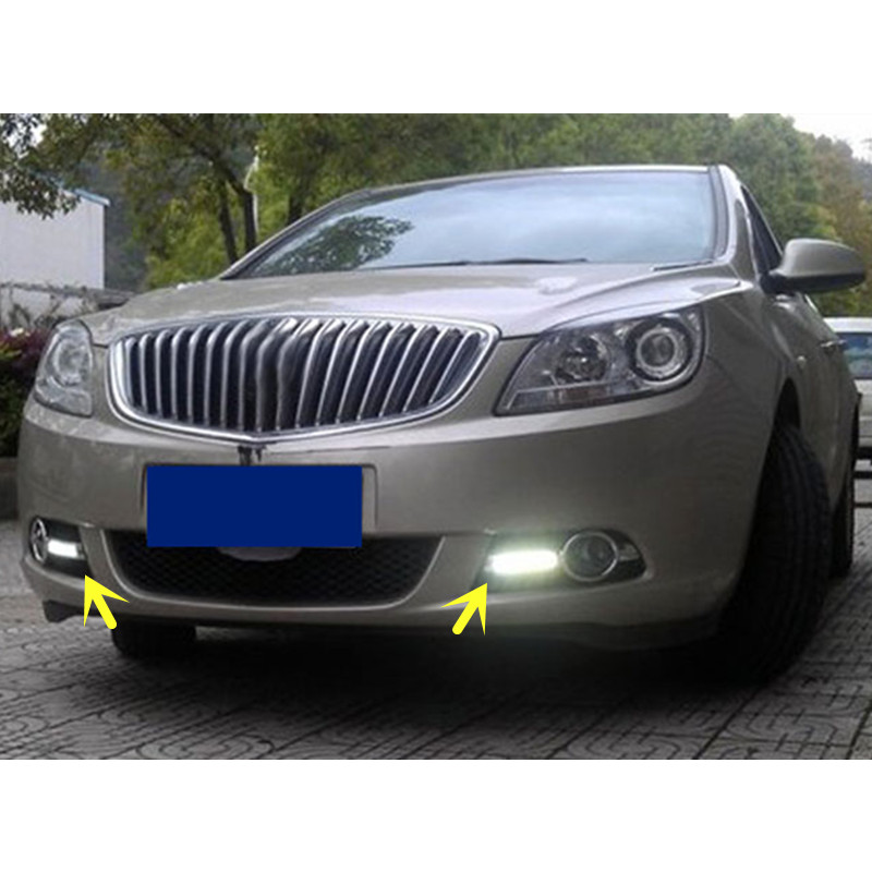 Buick Verano 2016: 2PCS Day Running Light DRL Lights New For Buick Excelle GT