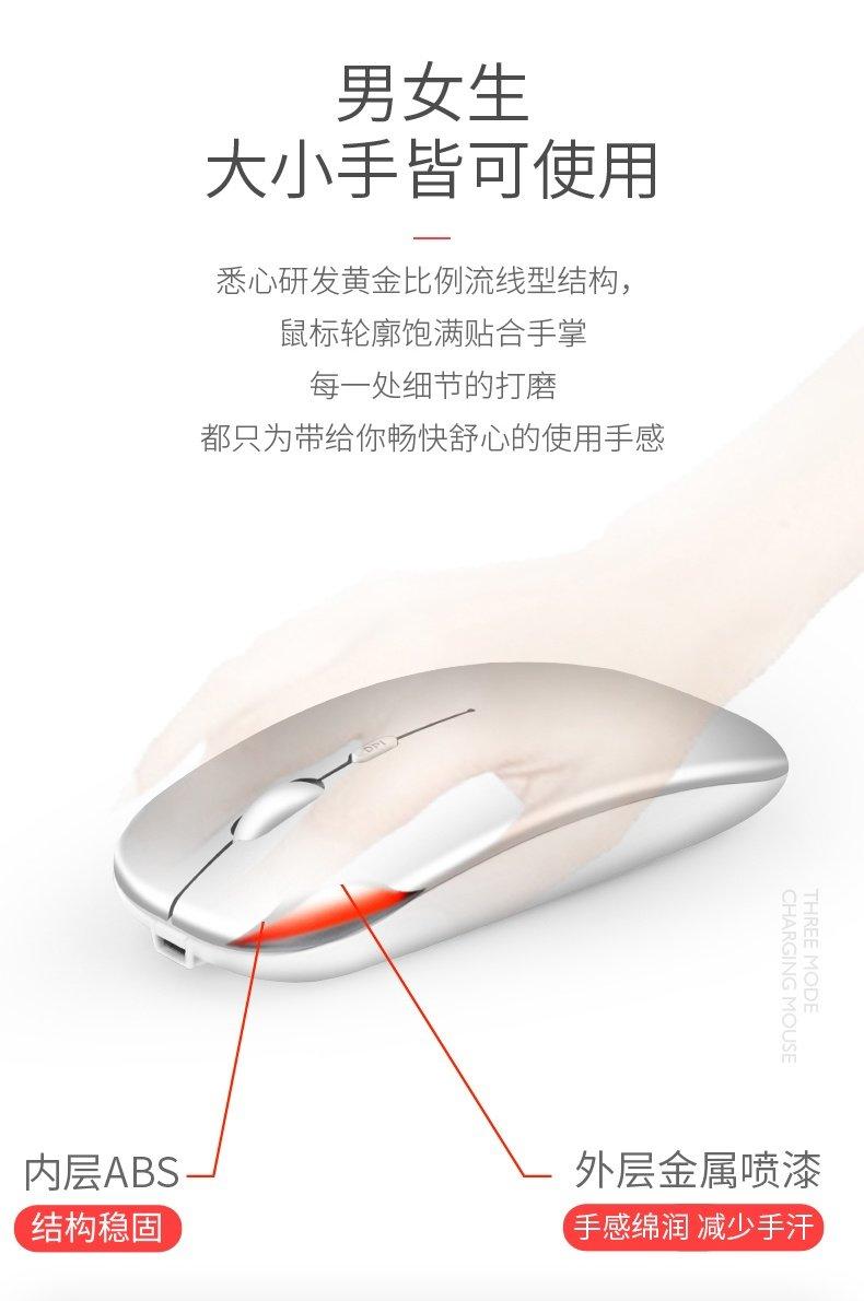 【今贵】三模充电式typec蓝牙无线鼠标 12