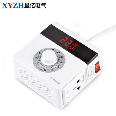 4000W power SCR dimmer speed electronic regulator thermostat overload and short circuit protection 0-220V