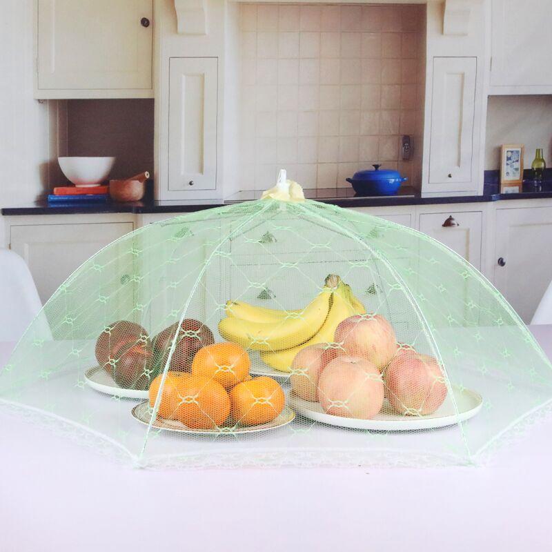 饭桌盖菜罩家用防苍蝇新款神器可折叠餐桌罩子剩食物防尘时尚夏季