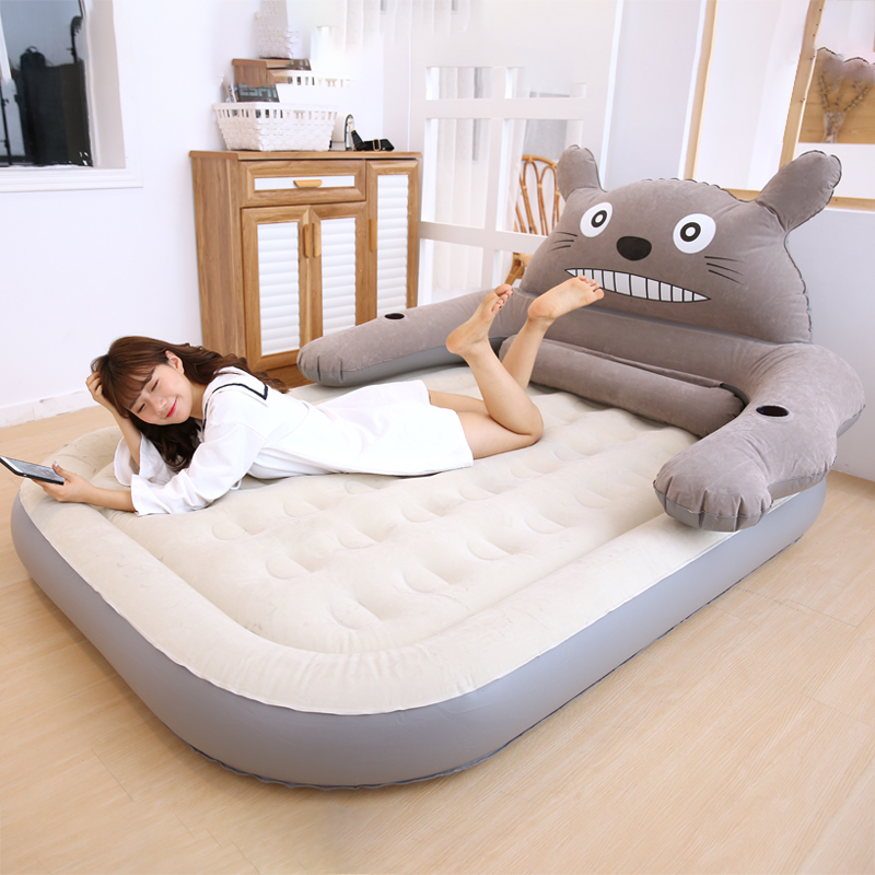 Living Room Sofas Creative Lazy Couch Cartoon Bear Single Balcony Nap Inflatable Sofa Bed Bedroom Leisure Dormitory Lazy Chair Living Room Furniture