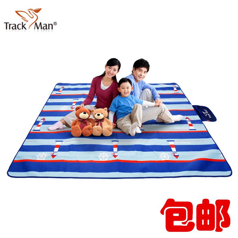 Trackman自游人户外野餐垫防水防潮 加厚野餐 双人加宽沙滩垫草地