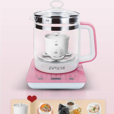 乐浦养生壶全自动多功能加厚玻璃电热烧水壶家用花茶煎药壶煮茶器