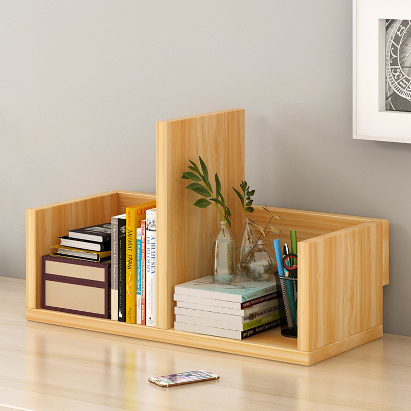 Shelf On The Table Desk Space Saving Multi Functional Storage Layer Simple