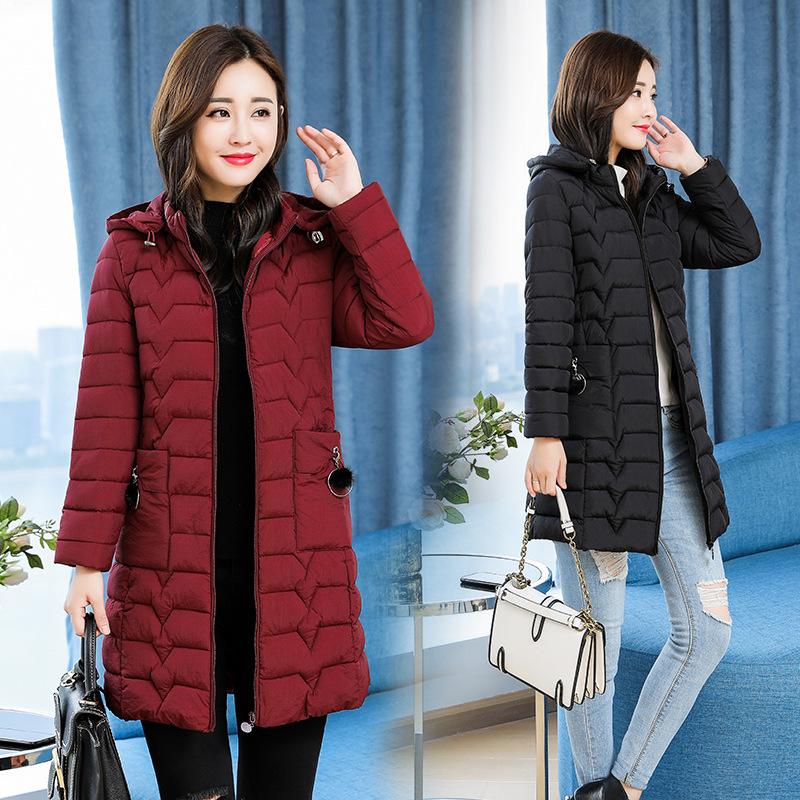 Áo mẹ mặc áo khoác nữ mùa đông 30 - 40 tuổi 2018 phiên bản Hàn Quốc mới của phụ nữ áo khoác mùa đông