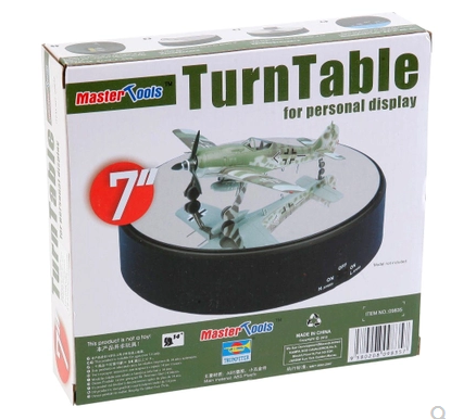 TRUMPETER SMALL HAND TRANSPARENT MODEL DISPLAY 182MMX41MM 09835