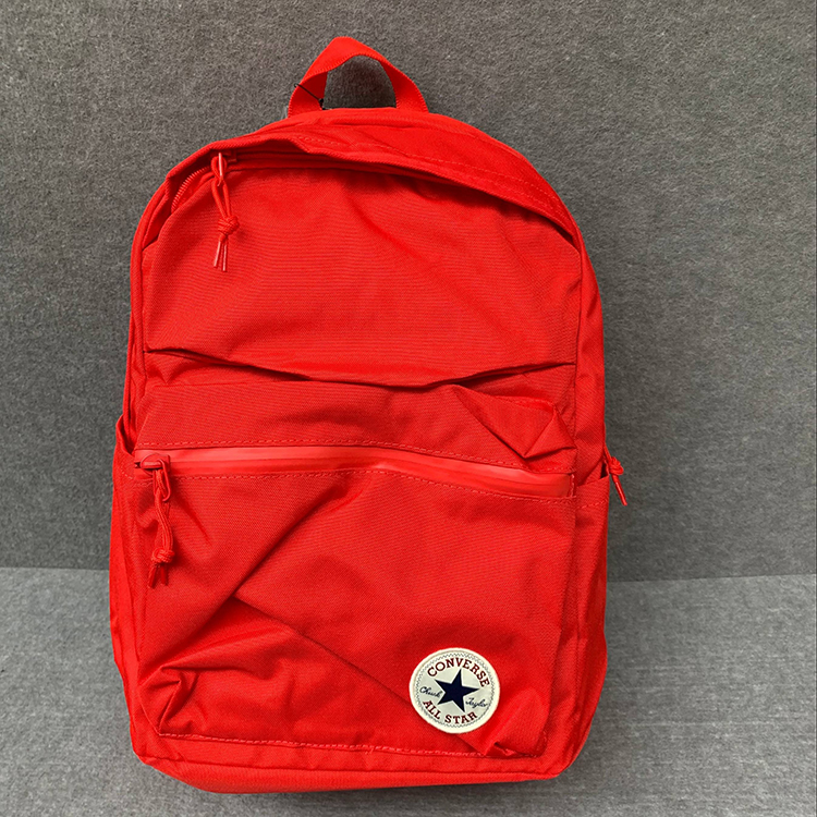 23f13b0462 Converse bag CONVERSE solid color classic backpack backpack men and women school  bag 10003335-A03