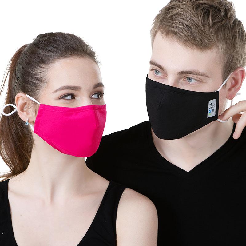 口罩女冬季时尚韩版纯棉布防雾霾尘透气可清洗易呼吸防寒保暖可爱