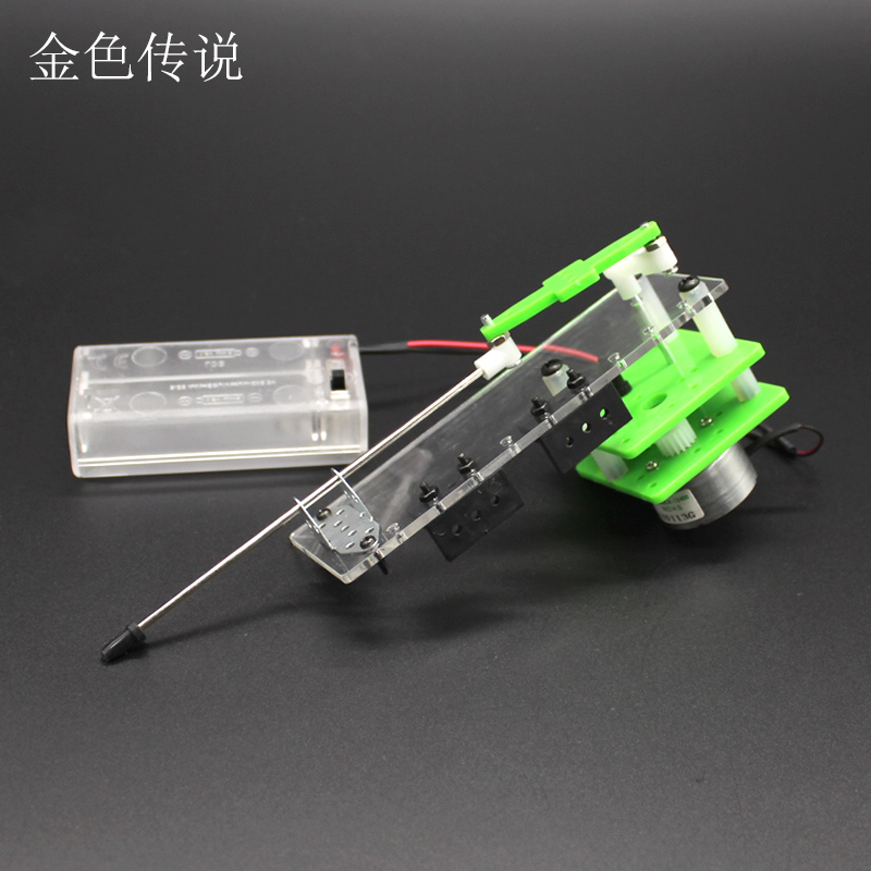 Reciprocating motion model maker DIY electric motor drive toy crank curved  wheel linear motion model