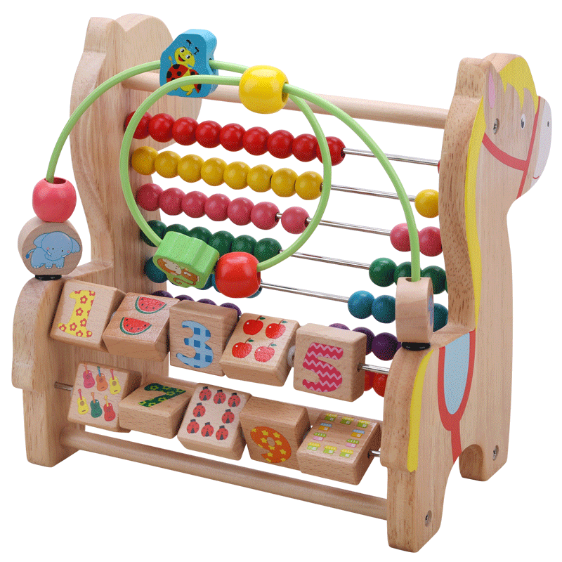 Usd 39 66 Baby Around Beads Beaded Educational Toys 6 12 Months Boy