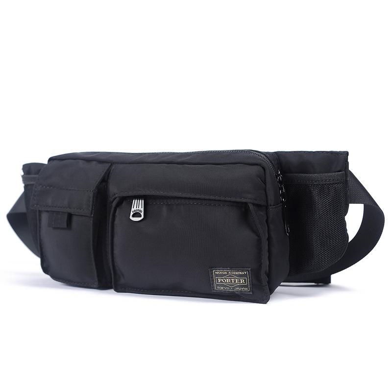 e0323e58ab91 Yoshida new head porter nylon waterproof pockets chest bag men s chest bag  men s bag shoulder bag. Zoom · lightbox moreview · lightbox moreview ...