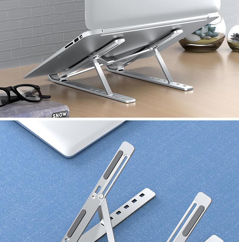 诺西 笔记本电脑支架 一体式铝合金材质 图16