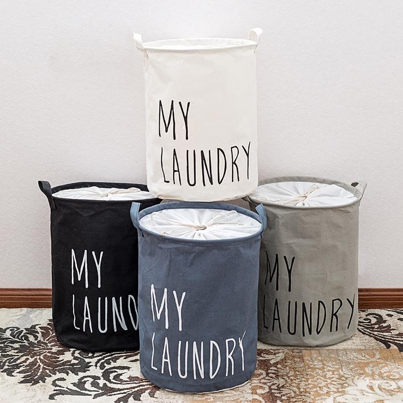 布艺可折叠脏衣篮大号放衣物玩具的收纳筐衣服篮子简约家用gsc2