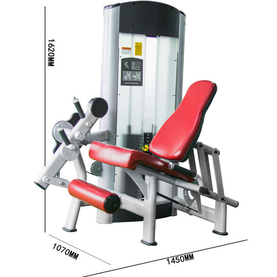 Yulong gym commercial sitting thigh extension training device thigh flexion and extension device lower limb training fitness equipment