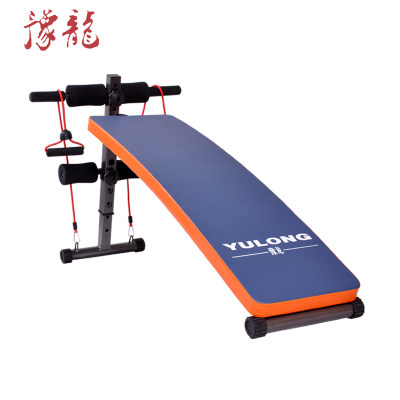 Yulong supine board sit-ups fitness equipment home abdomen multi-function abdominal abdominal muscle board dumbbell bench