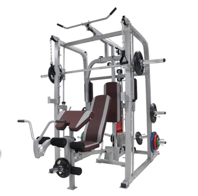 Smith machine squat rack weight bench bench press barbell bed size bird fitness equipment multifunctional gantry
