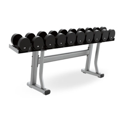Yulong gym commercial single-layer dumbbell rack 10 dumbbell racks horizontal dumbbell rack