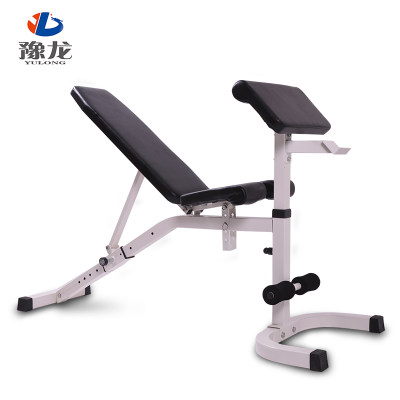 Yulong dumbbell bench professional fitness chair commercial multifunctional bird bench home fitness equipment sit-ups
