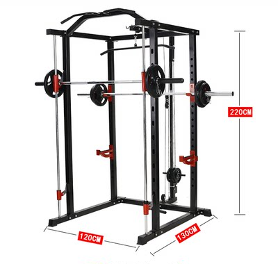 Yulong Smith Machine Comprehensive Trainer Frame Squat Rack Barbell Bench Bench Press Gantry Fitness Equipment