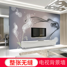 3D modern minimalist living room TV background wall paper film and television wall painting bedroom wallpaper 5d seamless wall covering