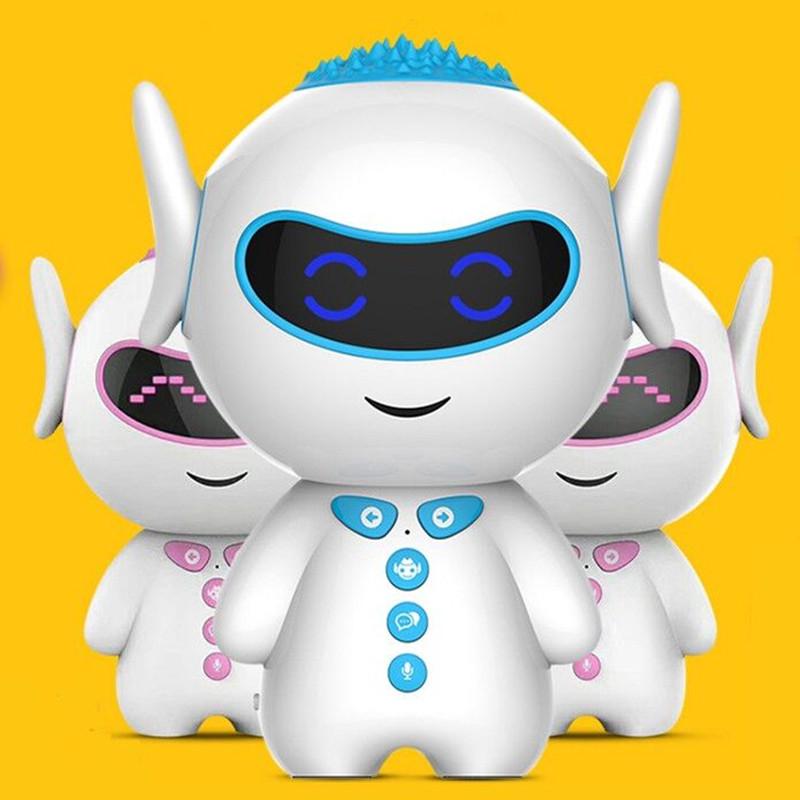 智能机器人儿童陪伴早教语音对话AI人工互动聊天儿歌故事中英文问题解答学生古诗国学男女孩家庭wifi版可充电