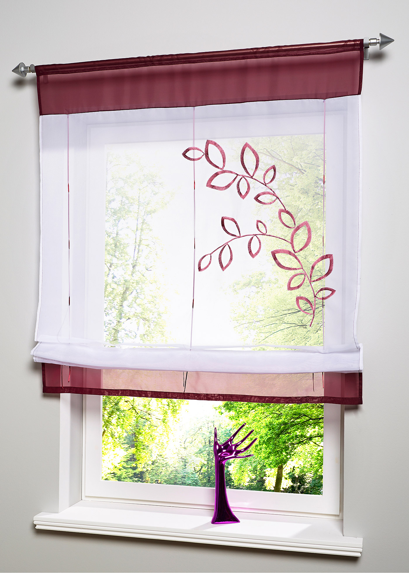 Window Kitchen Bathroom Roll Up Curtain Lifting Rome