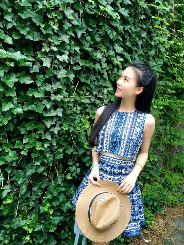 西西小可*2016夏装新品民族风连衣裙两件套收腰显瘦雪纺短裙夏