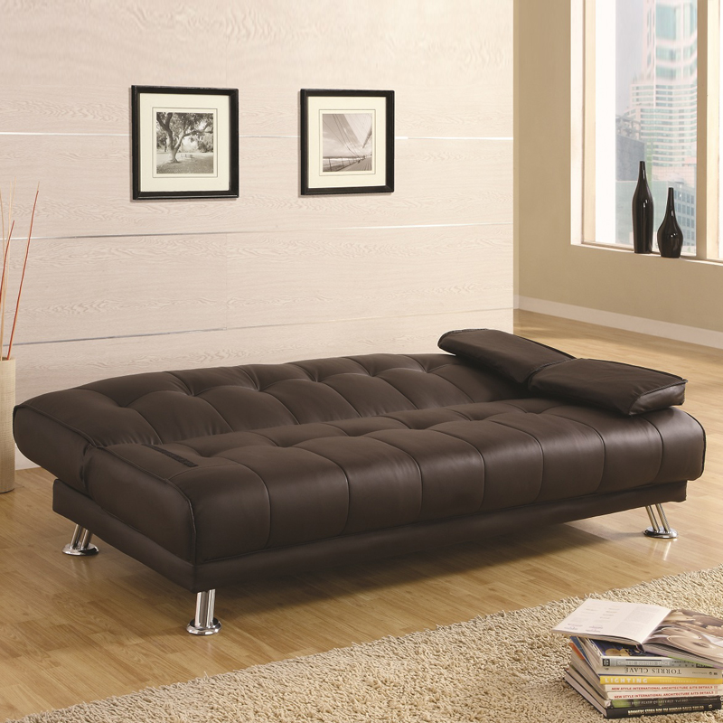 Simple Modern Solid Wood Sofa Bed 1 8 M Collapsible Living Room Small Apartment Single Double Multifunctional
