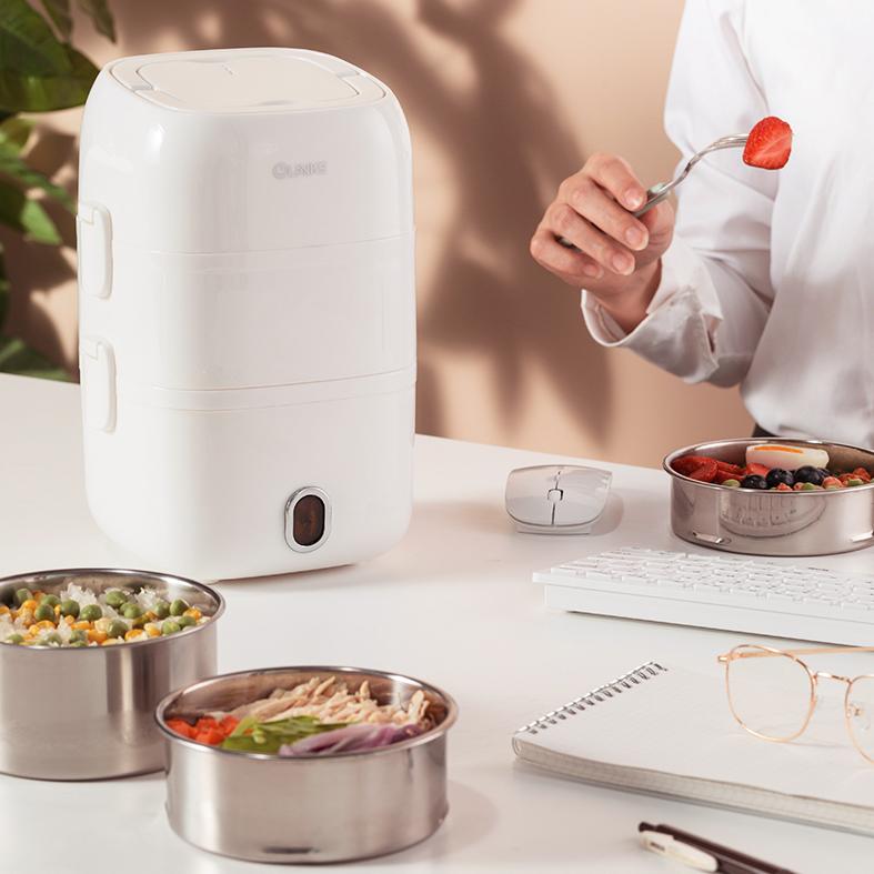 便携电热饭盒,上班族的移动厨房