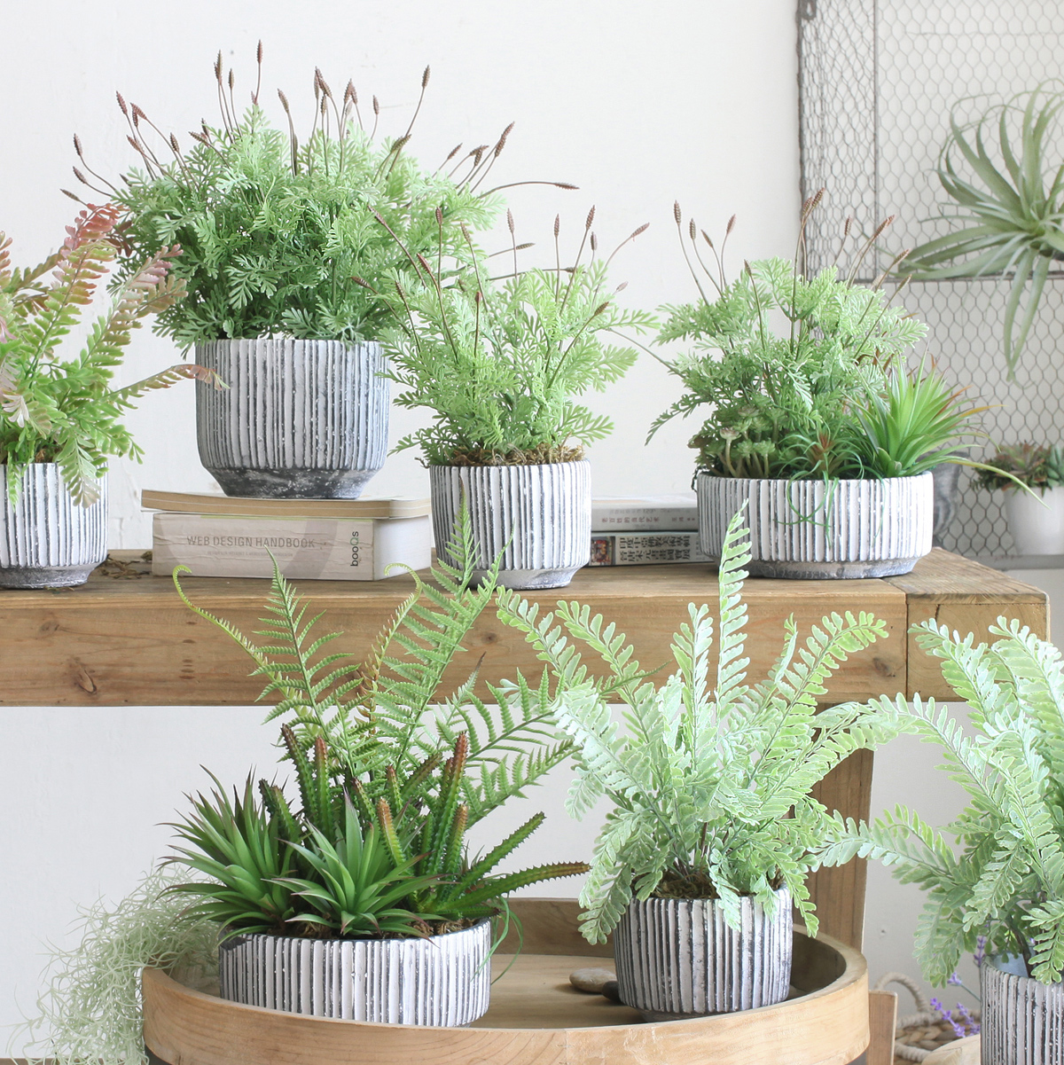 office bonsai. Sicilian Green Lavender Artificial Plant Bonsai Home Office Indoor Potted Fake Tree Decoration Ornaments