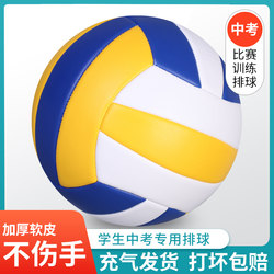 Genuine No. 5 Volleyball High School Entrance Examination Special Training Volleyball Special Ball No. 4 Children Beginner Soft Volleyball