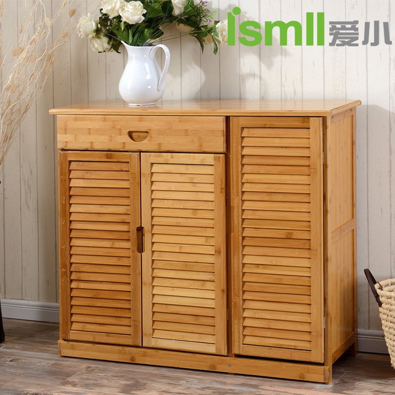 Review Simple modern solid wooden shoe cabinet door cabinet shoes cabinet loumen two three doors porch Storage Inspirational - Latest cabinet door shop Luxury