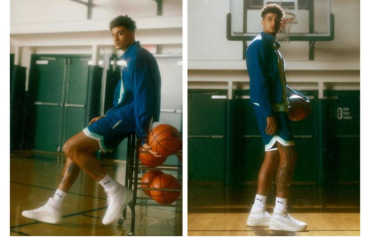 库兹马男低帮实战耐磨缓震篮球鞋详细照片