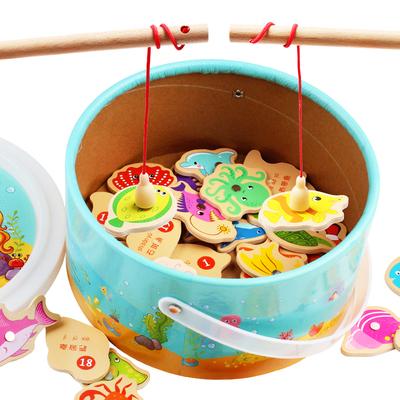亲子游戏益智儿童钓鱼玩具套装