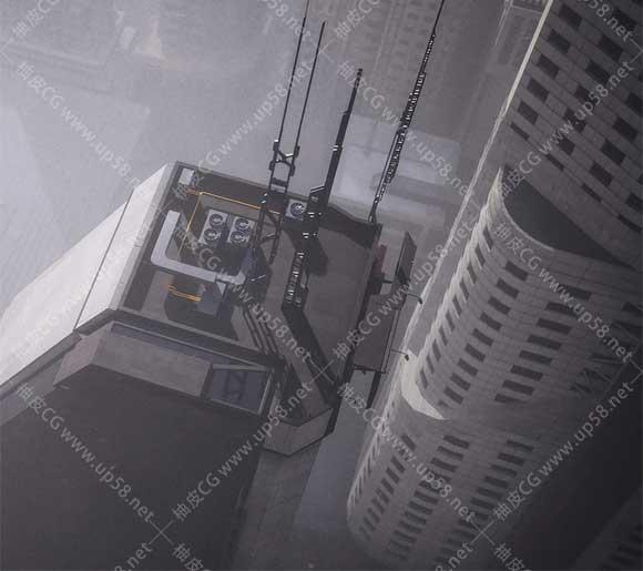 3DSMAX / C4D科幻乌托邦城市楼房建筑3D模型
