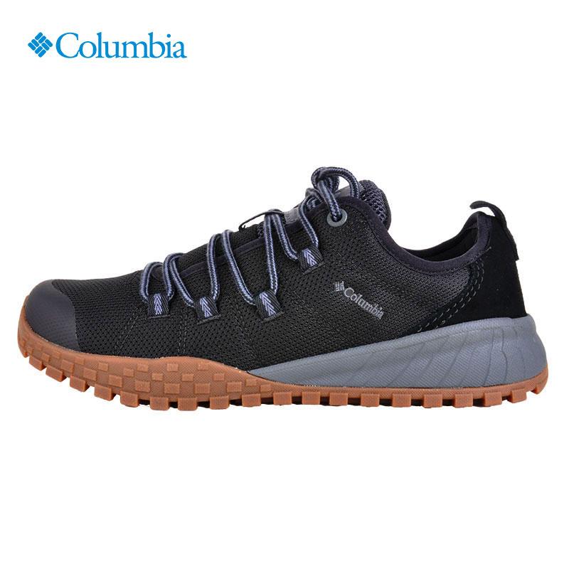 春秋季哥伦比亚户外男鞋缓震透气徒步轻便登山运动防滑鞋DM0063