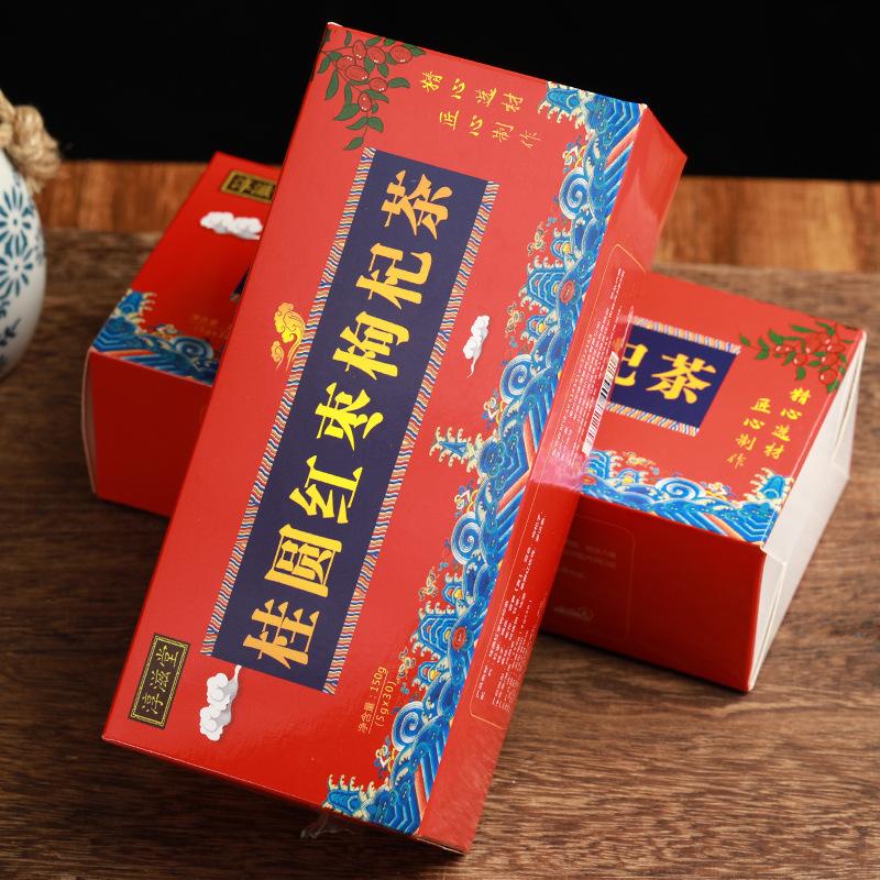 桂圆红枣枸杞茶茶女神茶桂圆枸杞茶