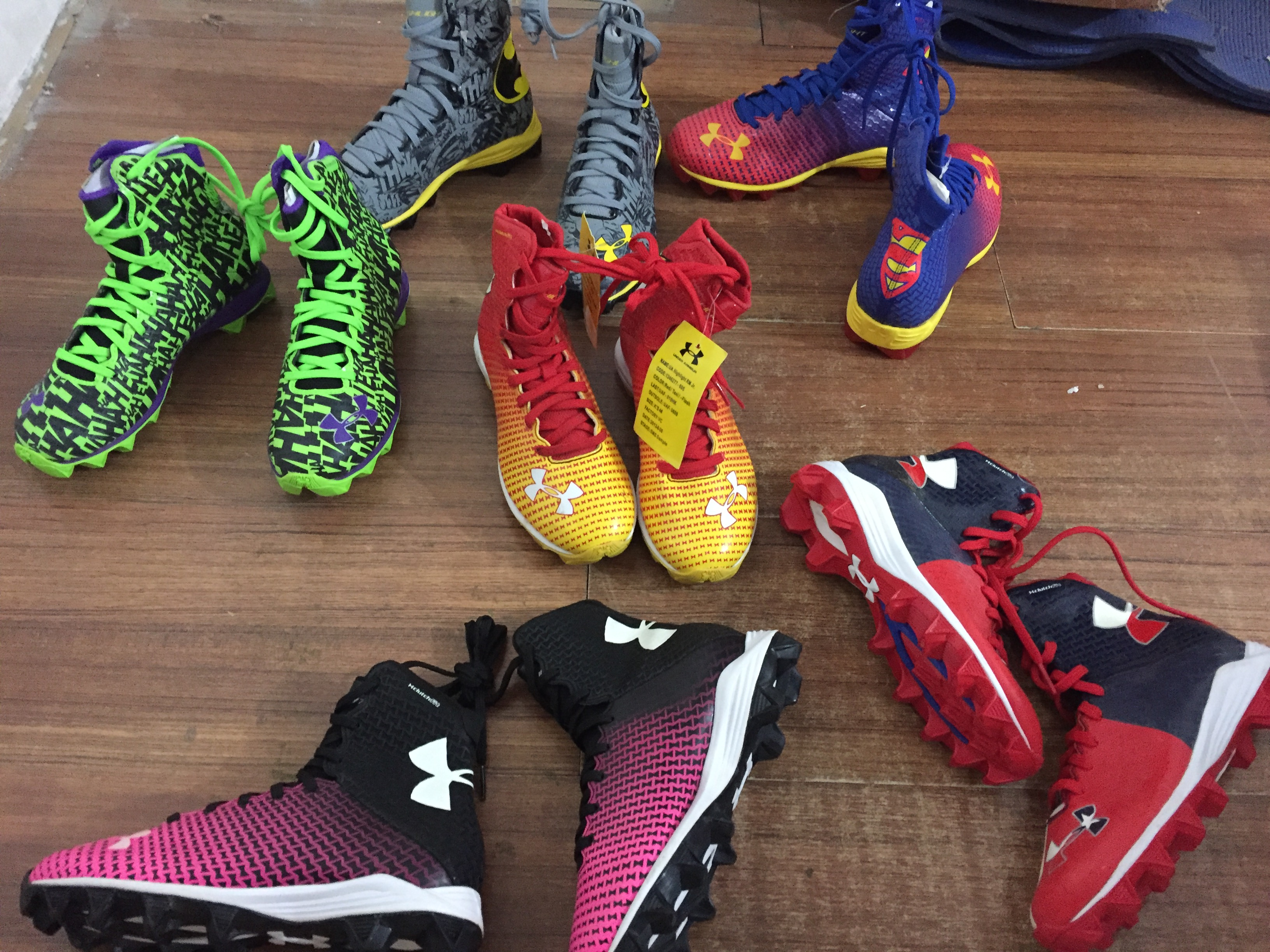 Футбольная обувь для подростков детские Футбольная обувь товар в наличии Женская футболка Ua без коробка