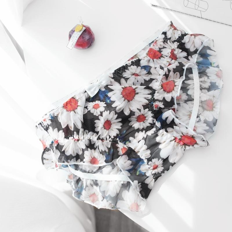 GDs cúc nhỏ quần lót lưới hoa Nhật Bản sexy trong mờ quần lót thấp cho bạn N530 - Võ sĩ quyền Anh