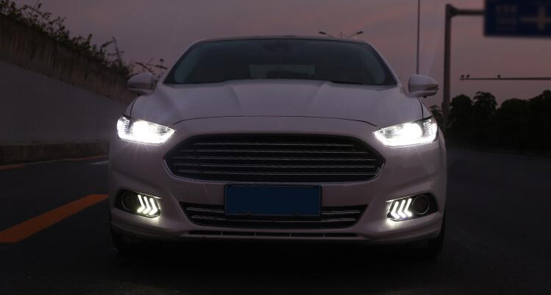 2013 Ford Fusion For Sale >> For Ford Fusion/Mondeo 2013-2016 DRL White LED Headlight ...
