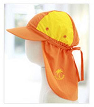 Мандарин желтый стиль Защитная шторка для шеи