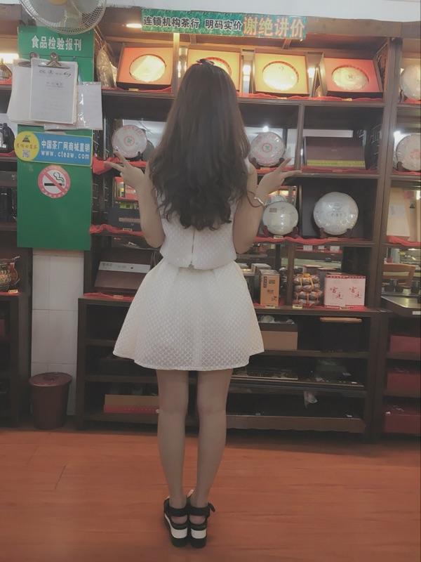 2016夏季新款女装兔子卡通贴布无袖上衣+娃娃款蓬蓬裙短裙套装潮