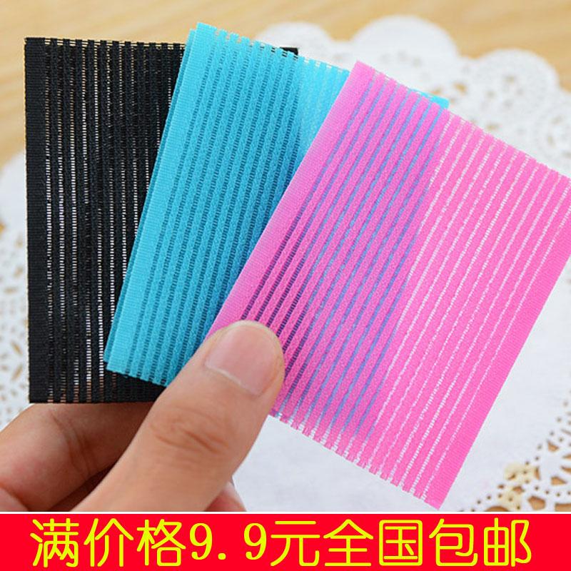 Индивидуальная упаковка сгущаться корея фиксированный бесшовный челка паста милый магия волосы паста составить 2 пакет
