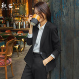 Spring and autumn professional wear fashion temperament civil servant interview formal wear female college student work clothes small suit suit Korean version