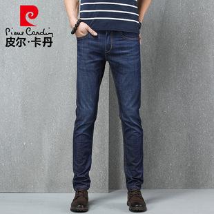 【国际品牌】皮尔卡丹舒弹丝牛仔裤