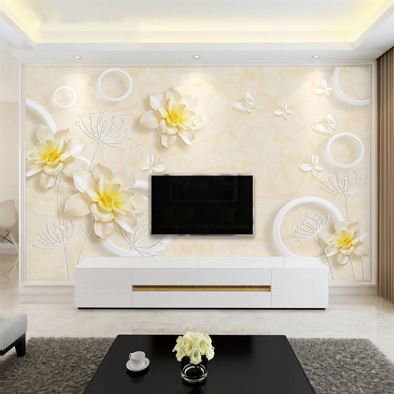3D立体浮雕欧式墙壁纸电视背景定制优惠价10元销量397件
