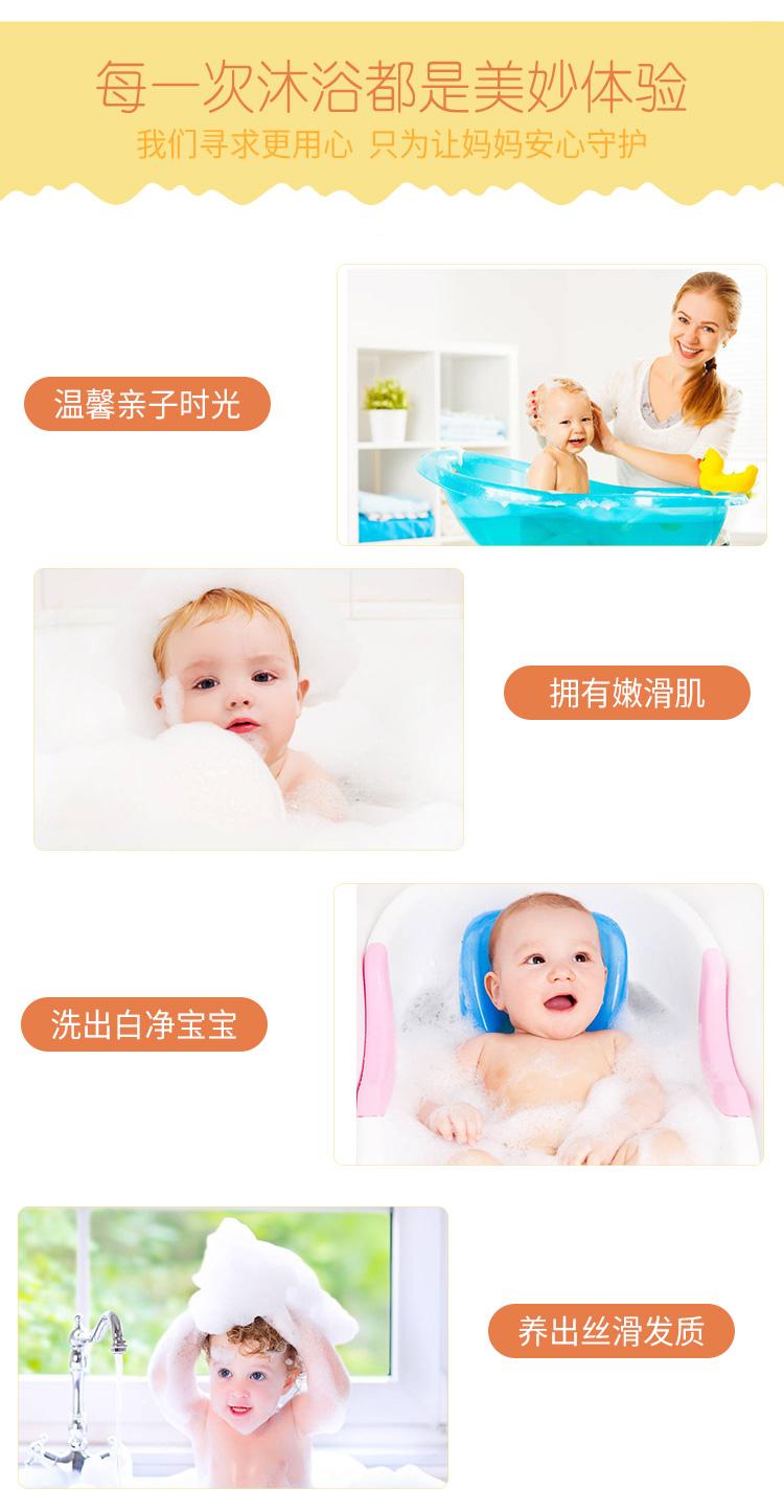 圣琪诺儿童二合一沐浴露洗发水